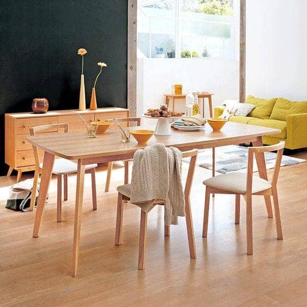 tavolo da pranzo, con o senza estensioni, ispirazione nordica ... - Sala Da Pranzo Tavolo E Sedie Estensione