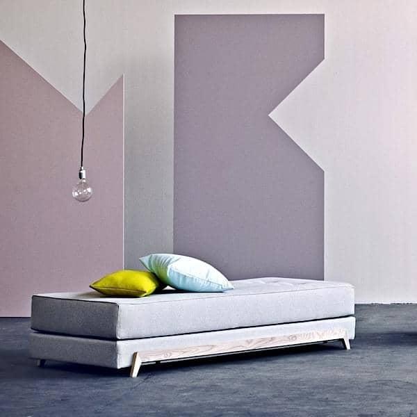 Frame sofabed elegante divano letto nordico softline - Divano letto elegante ...