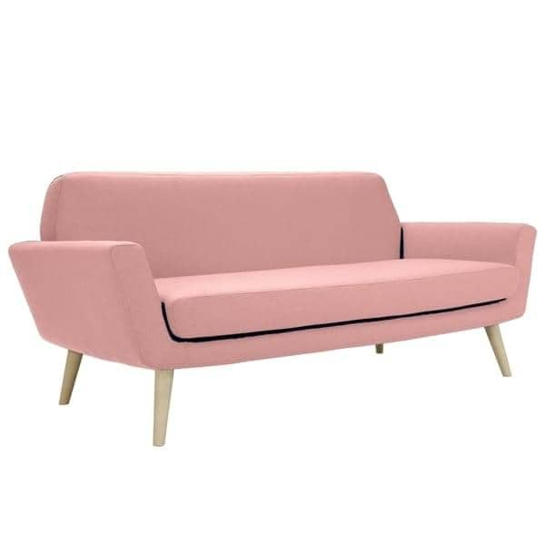 Beau ... Un Compacto Y Cómodo Sofá, Diseñado Para Espacios Pequeños   Deco Y El  ...