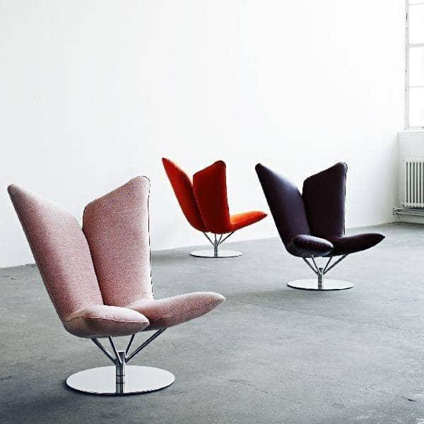 ANGEL fauteuil lounge accueillant et original SOFTLINE