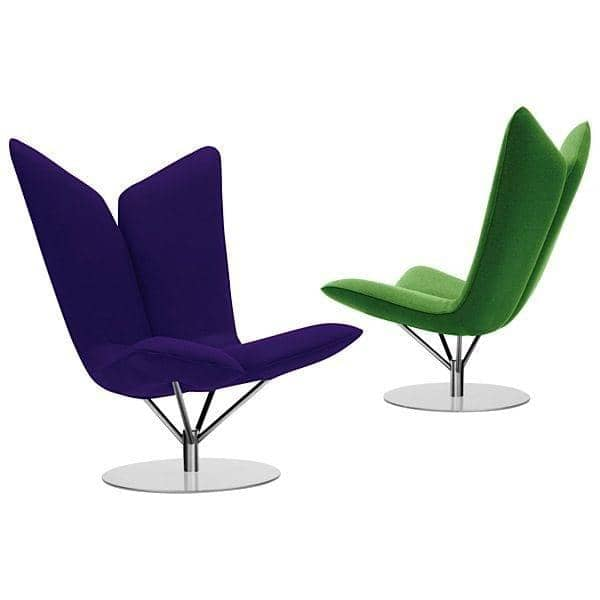 ANGEL ved Busk og Hertzog: ikoniske loungestol, blød og indbydende - deco og design, SOFTLINE