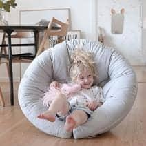 LITTLE NEST, en kokon stol, som også er en futon, hyggeligt og meget behageligt for dit barn - Deco og design