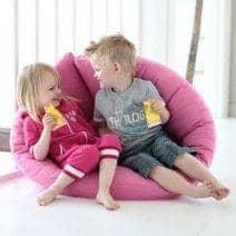 LITTLE NEST, Fauteuil futon convertible pour enfants : douillet, pratique, et confortable