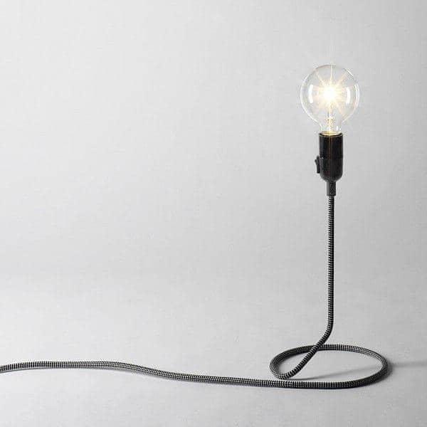 Lamp Astucieusement Lampadaire Le Transforme Lampe De Poser Cord D'alimentation Fil À En La Pied fgYy6Ib7v