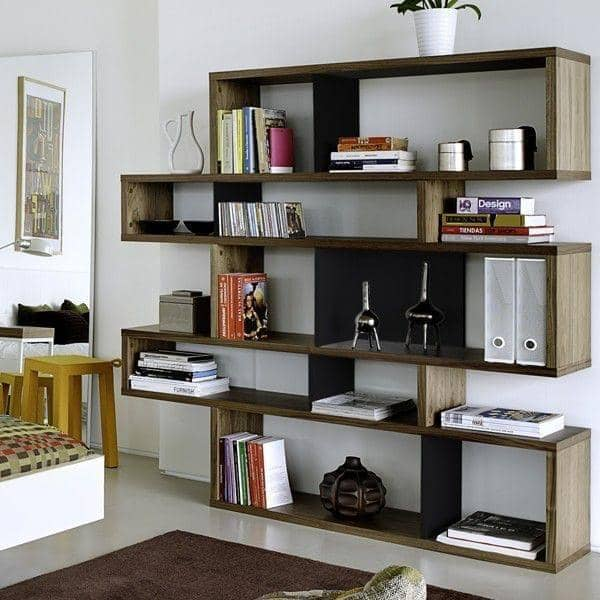 LONDON Shelves System Is Spacious And Contemporary Three Dimensions Several Finishing Options Reversible
