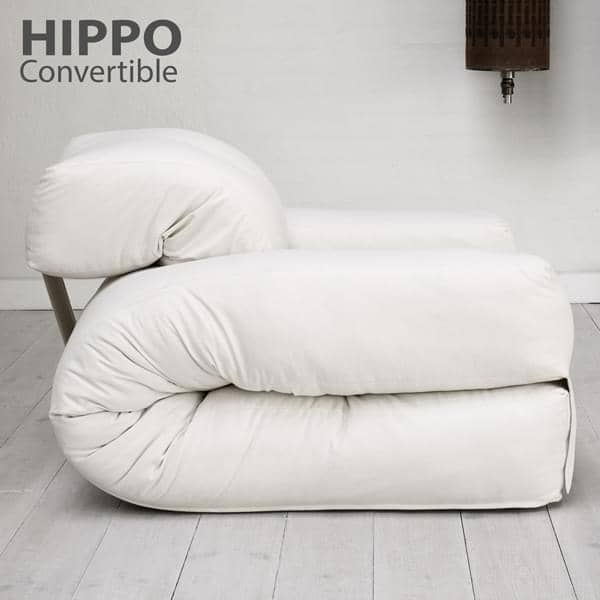 Hippo An Armchair Or A Sofa That Turns Into Comfortable Extra Futon Bed In Seconds Deco