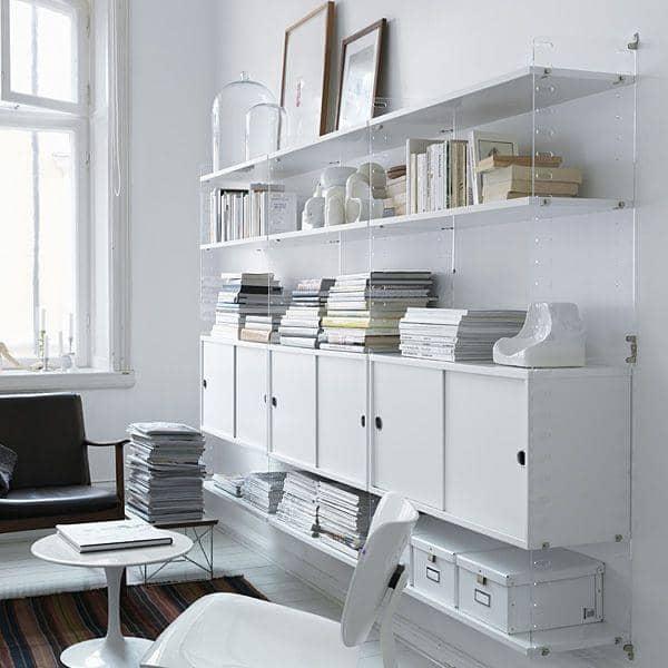 Créez votre système de rangement modulable STRING SYSTEM, de A à Z - Version originale, conçue et fabriquée en Suède