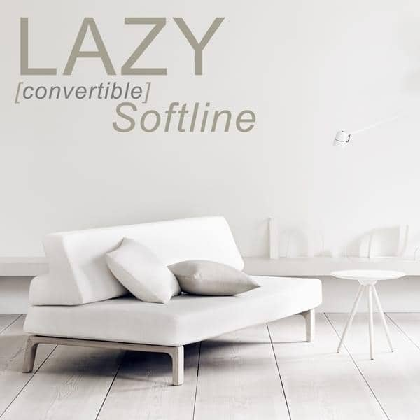 The sofa bed LAZY, convert your sofa into a bed in seconds.