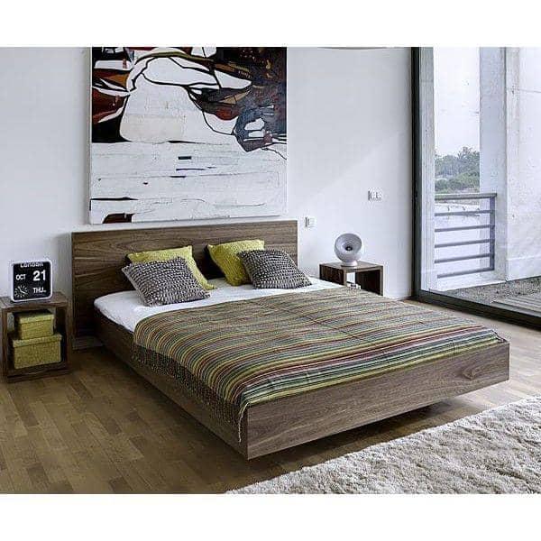 Float un letto 153 x 200 cm 160 x 200 cm o 180 x 200 cm temahome - Testata del letto ...