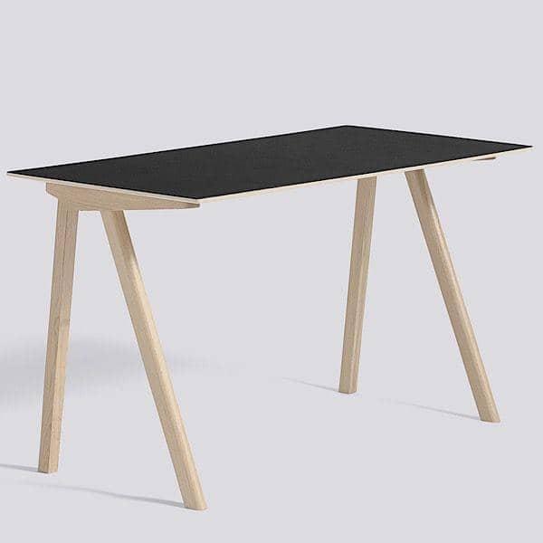 Le bureau Hay COPENHAGUE CPH90 en bois massif et multiplis, par Ronan et Erwan Bouroullec: l'essence du design danois revisité par deux designers français