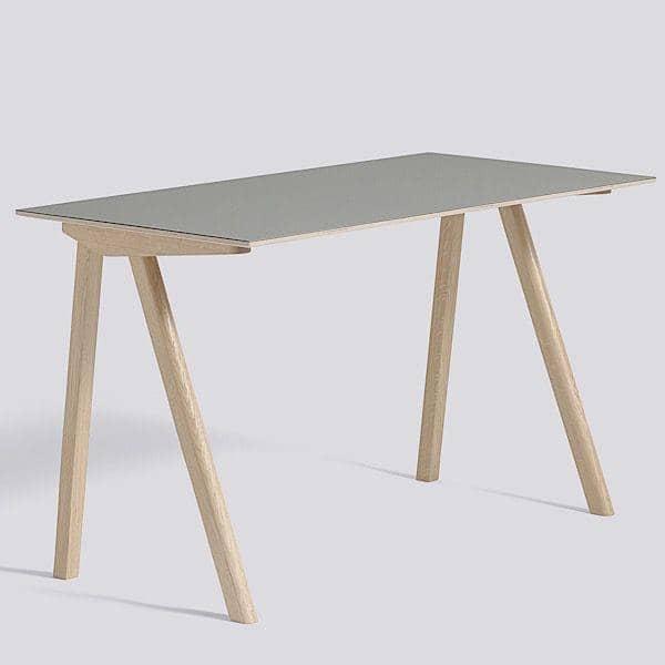 COPENHAGUE skrivebordet CPH90, lavet i massivt tr u00e6 and krydsfiner, RONAN AND ERWAN BOUROULLEC, HAY