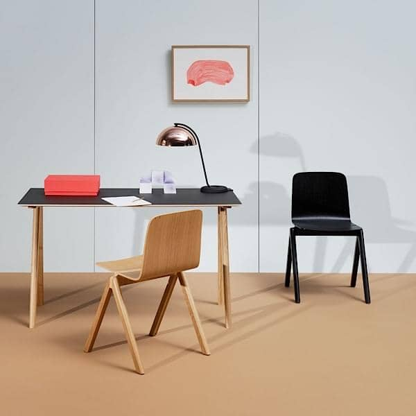 Η COPENHAGUE γραφείο CPH90, γίνονται σε μασίφ ξύλο and κόντρα πλακέ, RONAN AND ERWAN BOUROULLEC, HAY - διακόσμηση and το σχεδιασμό