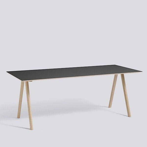Le bureau COPENHAGUE CPH10 en bois massif et multiplis, par Ronan et Erwan Bouroullec: une table design danoise revisitée par deux designers français