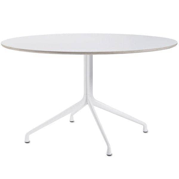 La table ronde AAT20, multiplis, pieds en aluminium
