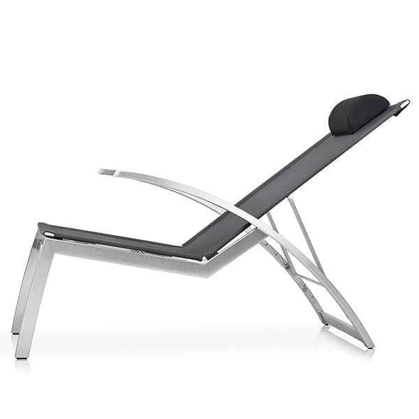 Multifunkioneller Lounge Sessel, ALCEDO, Edelstahl und BATYLINE, Innen-und Außenbereich, in Europa gemacht TODUS - entworfen von JIRI SPANIHEL