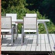 Mesa de comedor, ALCEDO FORNIX F1 by TODUS, TODUS atemporales, robustas y limpias, con o sin extensión: perfecto para usar en la terraza o en la sala de estar