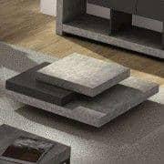 SLATE, salongbord: Den konkrete effekten med fleksibiliteten til lette materialer - designet av IN éS MARTINHO