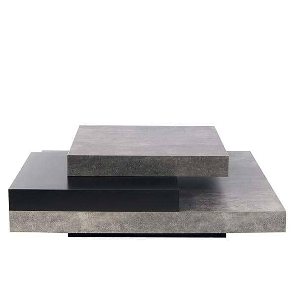 slate table basse effet b ton temahome. Black Bedroom Furniture Sets. Home Design Ideas