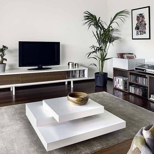 SLATE, Couchtisch: Die konkrete Wirkung mit der Flexibilität von leichten Materialien - designed by IN ES MARTINHO