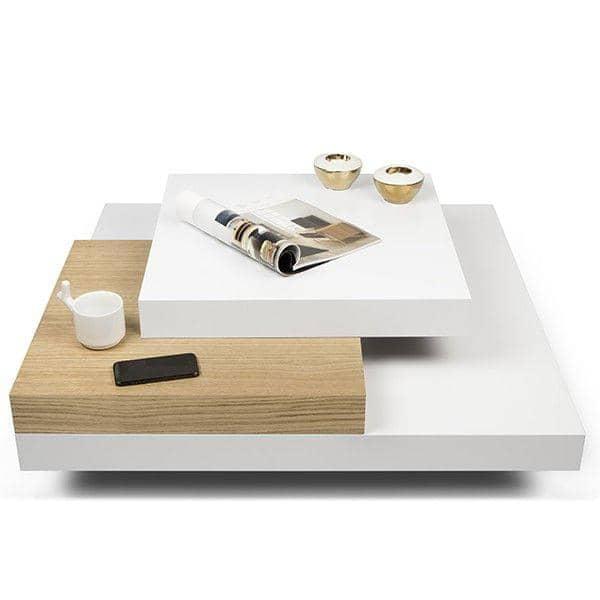 SLATE, τραπεζάκι του καφέ: Το συγκεκριμένο αποτέλεσμα με την ευελιξία των ελαφρών υλικών - που σχεδιάστηκε από IN ES MARTINHO