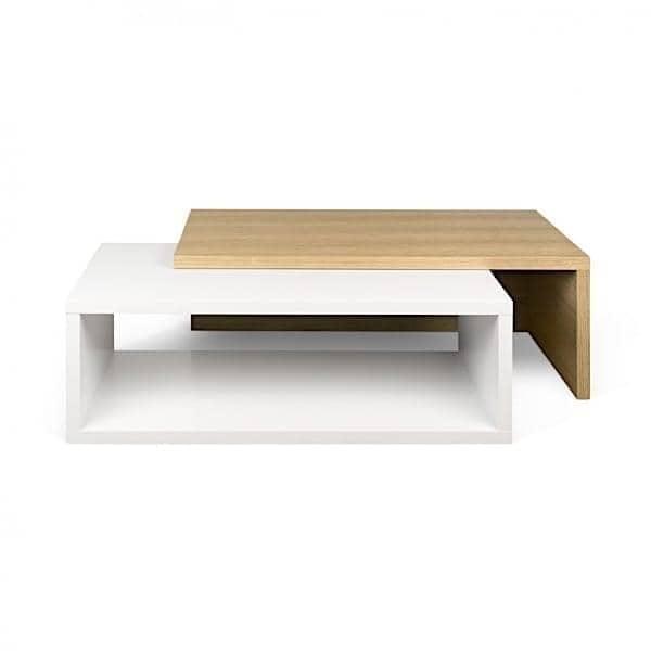 JAZZ, table basse : ouverte ou fermée, elle fait son effet ! Designer : RICARDO MARÇAL