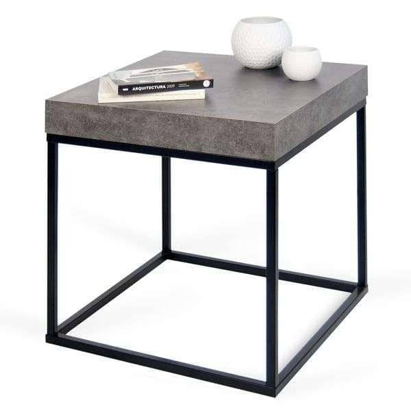 Superior PETRA, Coffee Table And Side Table : Concrete Aspect And Steel, Without  Concrete   Designed By INÊS MARTINHO
