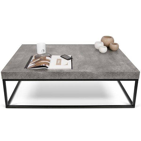 Petra sofabord og sidebord beton aspekt og st l temahome for Designer couchtisch beton