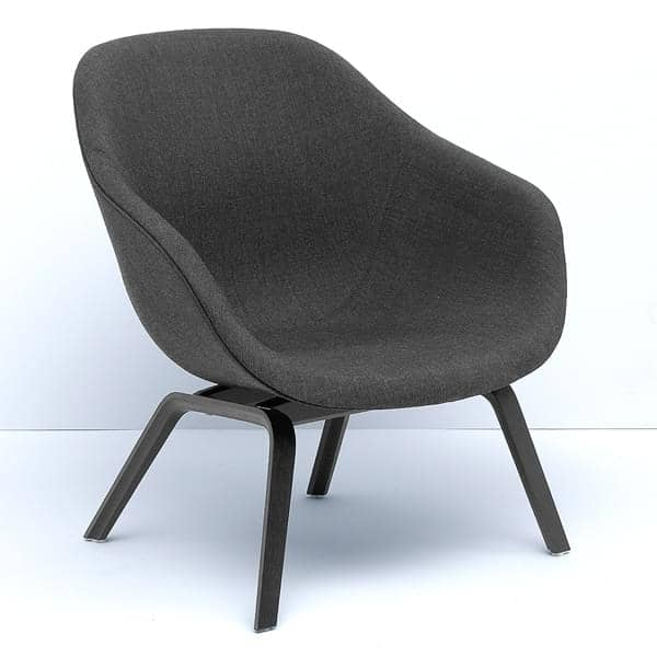 fauteuil about a lounge chair r f aal83 hay. Black Bedroom Furniture Sets. Home Design Ideas