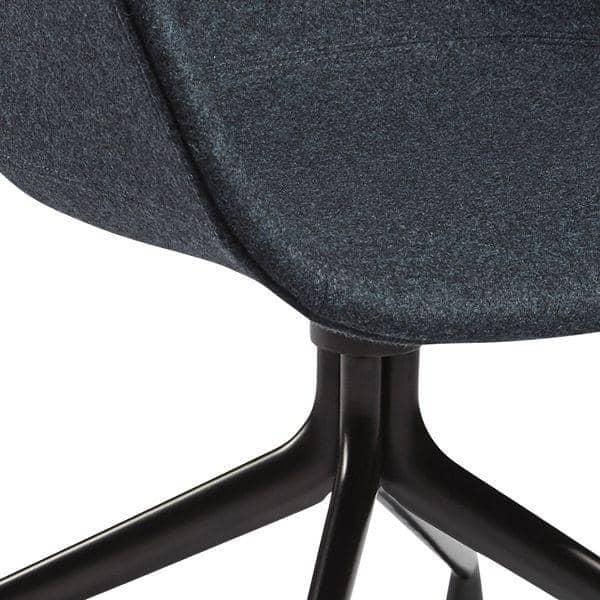 ABOUT A CHAIR ref AAC25 Polypropylene shell  : about chair ref aac25 polypropylene shell upholstered seat oeko tex foam aluminium legs hee from www.my-deco-shop.com size 600 x 600 jpeg 49kB