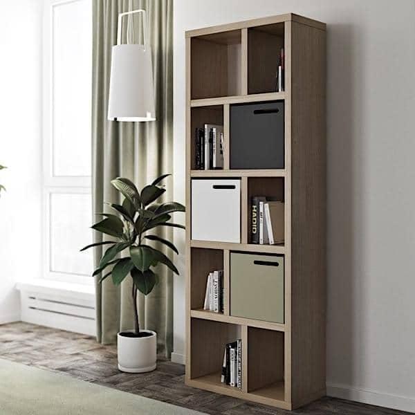 BERLIN, 70 cm, et effektivt lagersystem designet til at bringe munterhed til dit hjem - designet af Nadia SOARES