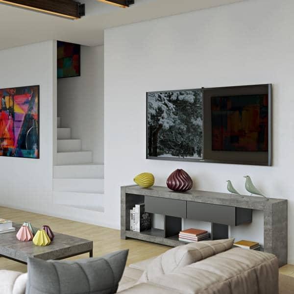 NARA, TV πίνακα που βρίσκει τη θέση του ενάντια σε έναν τοίχο ή στη μέση του σαλονιού, επίσης, διαθέσιμα σε συγκεκριμένες πτυχή - που σχεδιάστηκ
