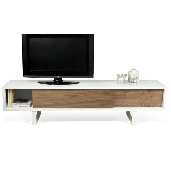 slide tv stand or low sideboard temahome. Black Bedroom Furniture Sets. Home Design Ideas