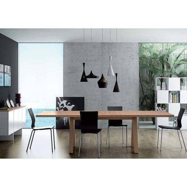 APEX Dining Table, Compact Or Extendable 200/250 Cm X 100 Cm: Concrete  Aspect Or Wild Oak ...