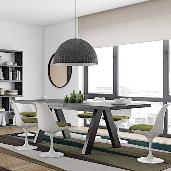 tavolo da pranzo, compatta o estensibile 200/250 cm x 100 cm ...