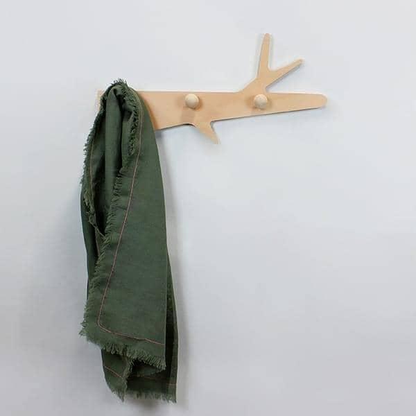 La Branche, Porte-manteaux, multiplis hêtre, design éco-responsable