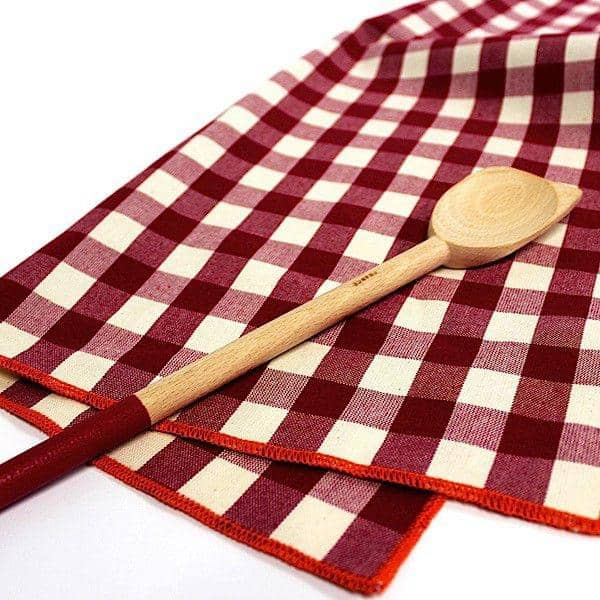 CUILLÈRE ET TORCHON, Spoon and tea towel, cotton, eco-design