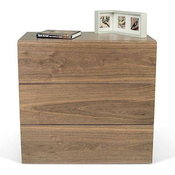 AURORA, chest 3 drawers, generous and design, available in different finishes