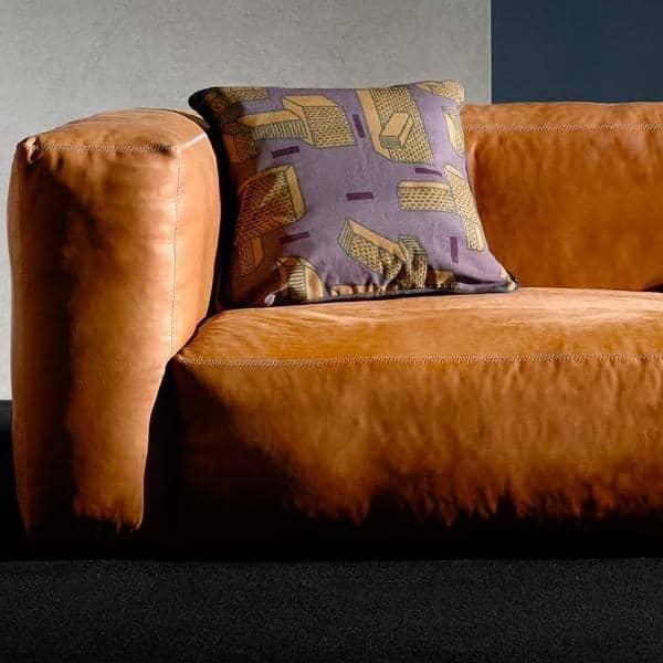 Sofa MAGS SOFT en cuir, combinaisons modulables