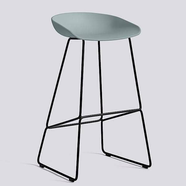 About A Stool By Hay Ref Aas38 Steel Base
