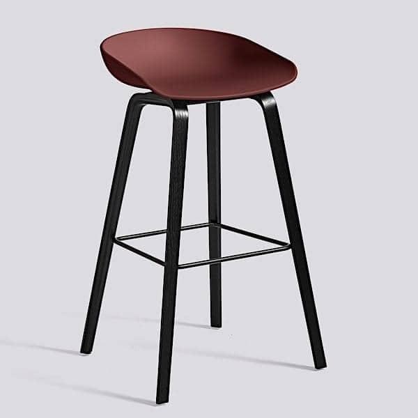 ABOUT A STOOL, stool ved HAY - ref. AAS32 - AAS32, polypropylen skal - HEE WELLING og HAY
