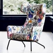 Den HAVANA lenestol, fot i stål, legendarisk og dynamisk komfort. Et svært bredt utvalg av stoffer og farger. Av Softline.