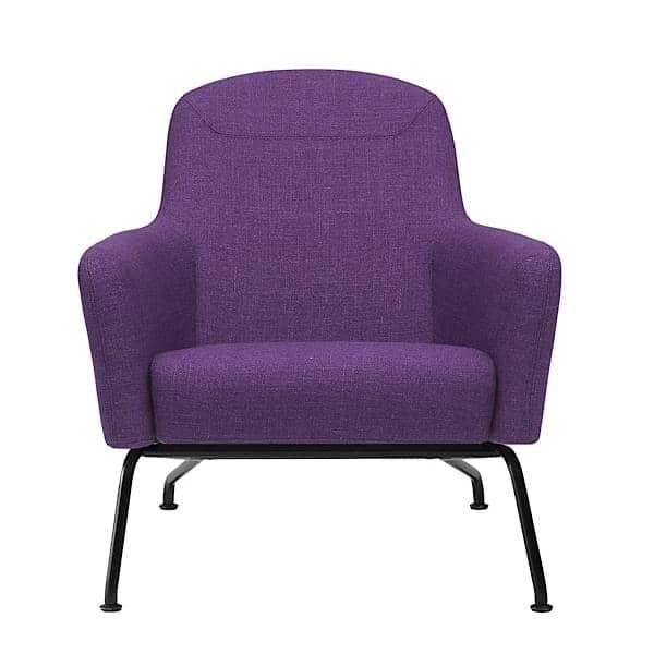 havana fauteuil avec pi tement en acier softline. Black Bedroom Furniture Sets. Home Design Ideas