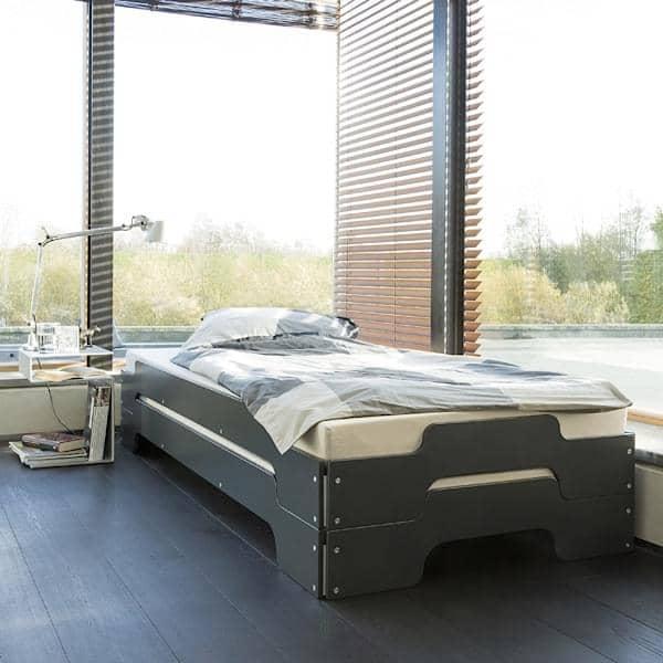 Apilable cama STACK por ROLF HEIDE desde 1967, un concepto atemporal, comodidad extrem y una línea pura y moderna.