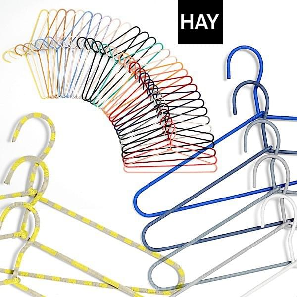 hay wire hangers set of 3 or 5 hangers cord hanger by hay steel and cord