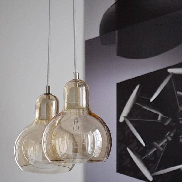BULB og MEGA BULB belysning kollektion ved SOFIE REFER for ANDTRADITION ædru, smuk og elegant belysning