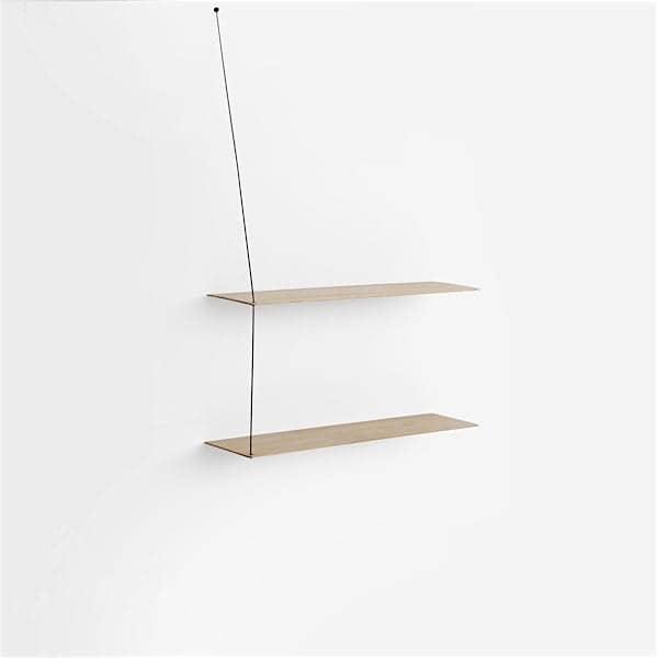 STEDGE, un système d'étagères minimaliste