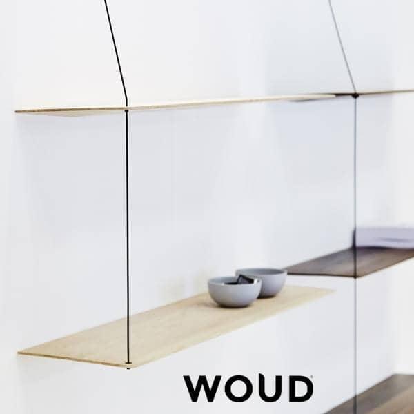 STEDGE, et minimalistisk hylde system