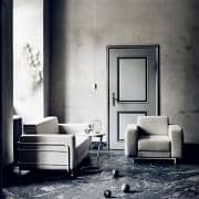 SILVER ,2折叠式沙发床,专为小空间,舒适的,永恒的,真正的斯堪的纳维亚风格,深受SOFTLINE