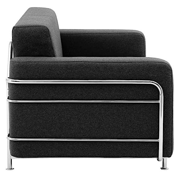 silver fauteuil convertible en lit 1 place softline. Black Bedroom Furniture Sets. Home Design Ideas
