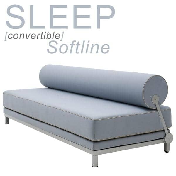 Divano Trasformabile Letto.Sleep Divano Trasformabile Softline